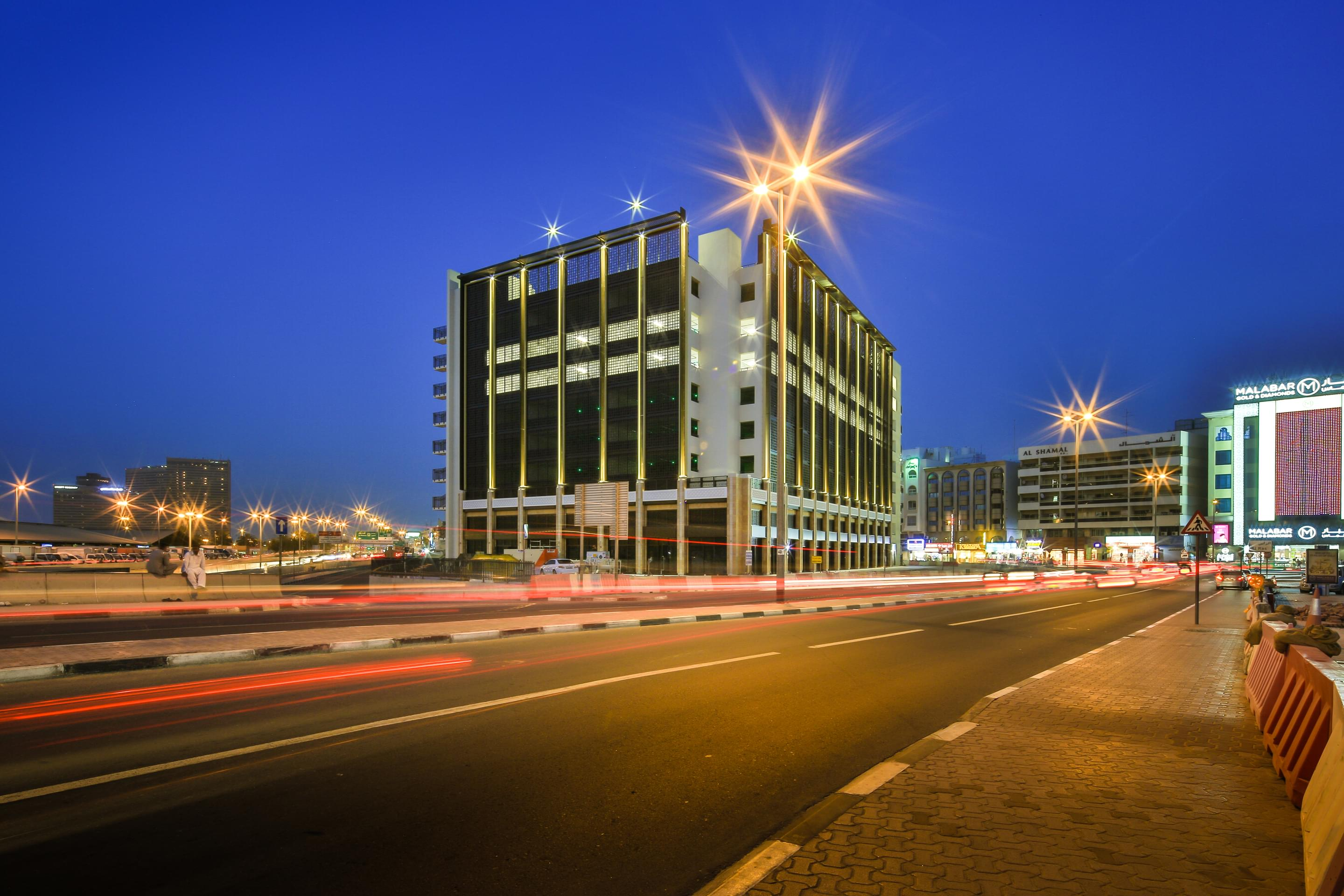 Deira Waterfront Parking Structure