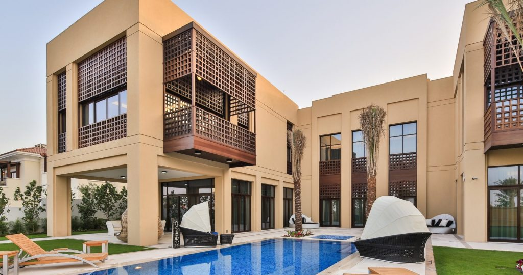 Modern Arabic Show Mansion - District One