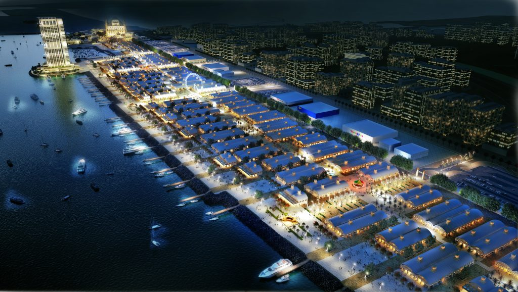 Deira Islands - Night Markets & Boardwalk