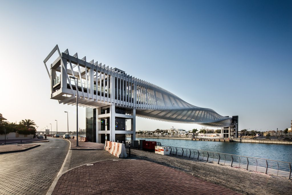 Dubai Water Canal - Pedestrian Bridge 3