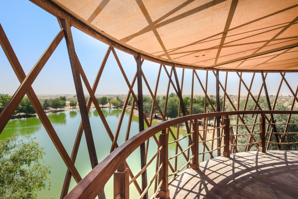 The Nest - Bird Observation Tower at Al Marmoom